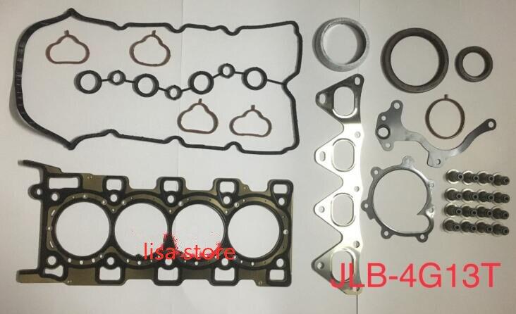 Kits de junta de motor de alta calidad para Geely 4G13T 4G15 4G18 4G69N JLD-4G20 JLD4G24 MR79Q motor