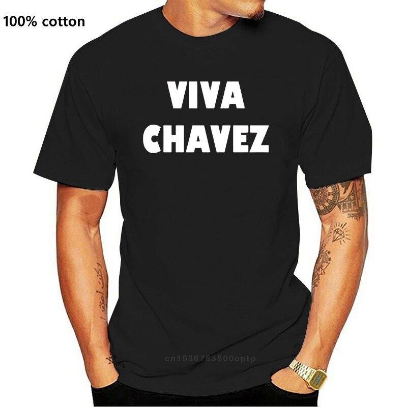 Chavez SOCIALISTA VIVA rewolucja wenezuela ROSSO koszulka-tutte le taglie