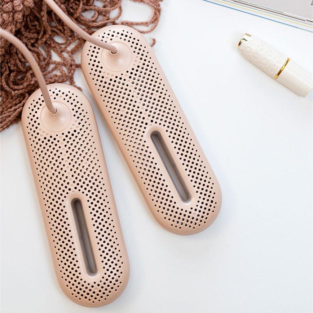 Secador de zapatos eléctrico portátil 220V desodorizado esterilización deshumidificador zapatos calentador secador al horno para calzado herramientas para pies