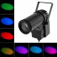 10W LED RGB Stage Light Lamp Projector Beam Stage Lighting Effect Spotlight Super Bright Lamp Full Color for DJ Disco Bar KTV