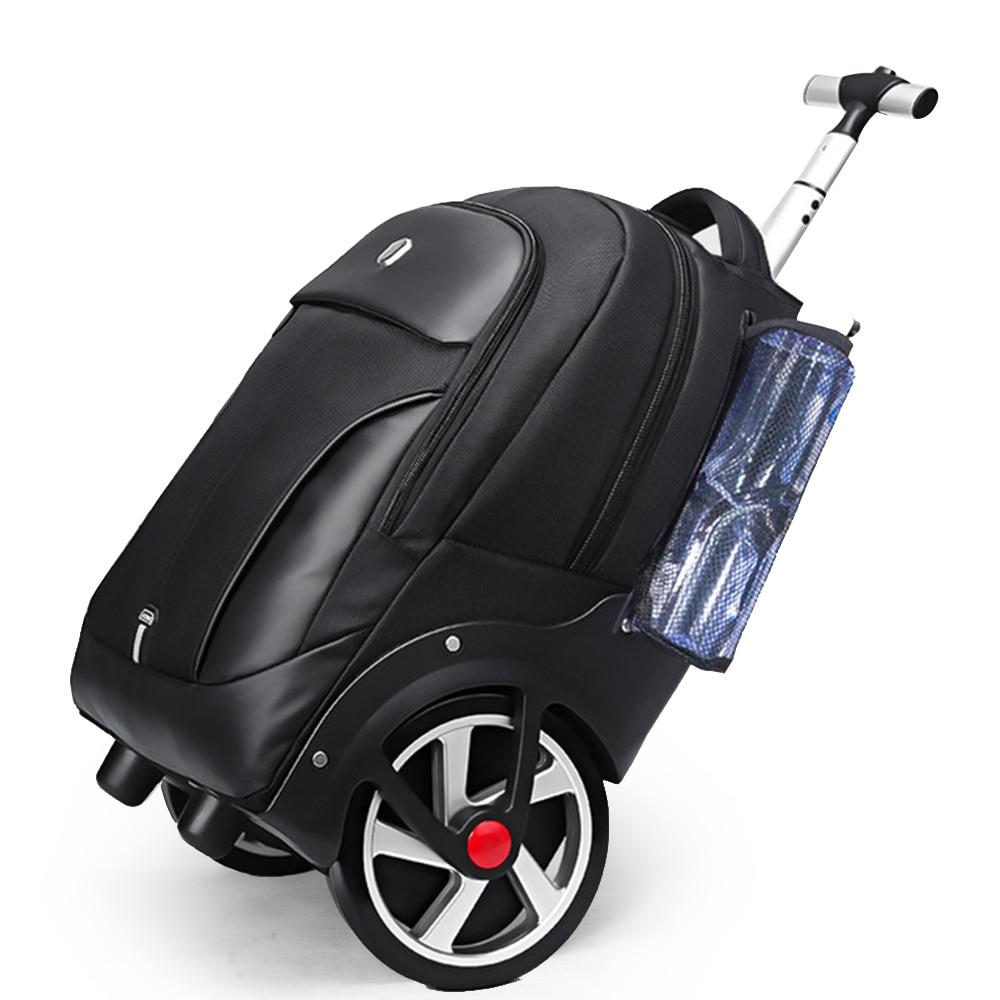 حقائب ظهر مدرسية على عجلات للعربة في سن المراهقة كابينة تحمل على المتداول الأمتعة حقيبة بعجلات مع عجلات حقيبة سفر بعجلات