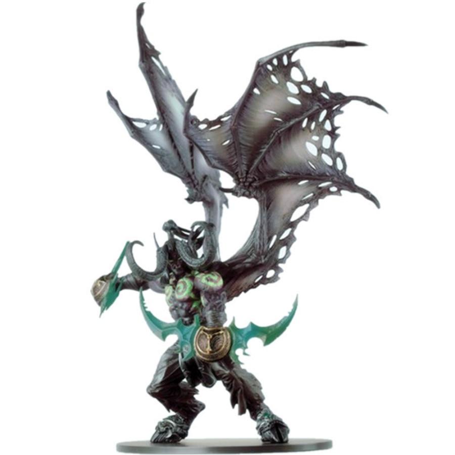 Figuras de acción de demonio Illidan de 29CM, juguete de resina de PVC Dota 2, regalos de modelo de colección