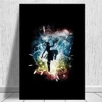 Stormkorra     affiche sur toile avec dessin anime  impression  decoration murale  peinture  sans cadre