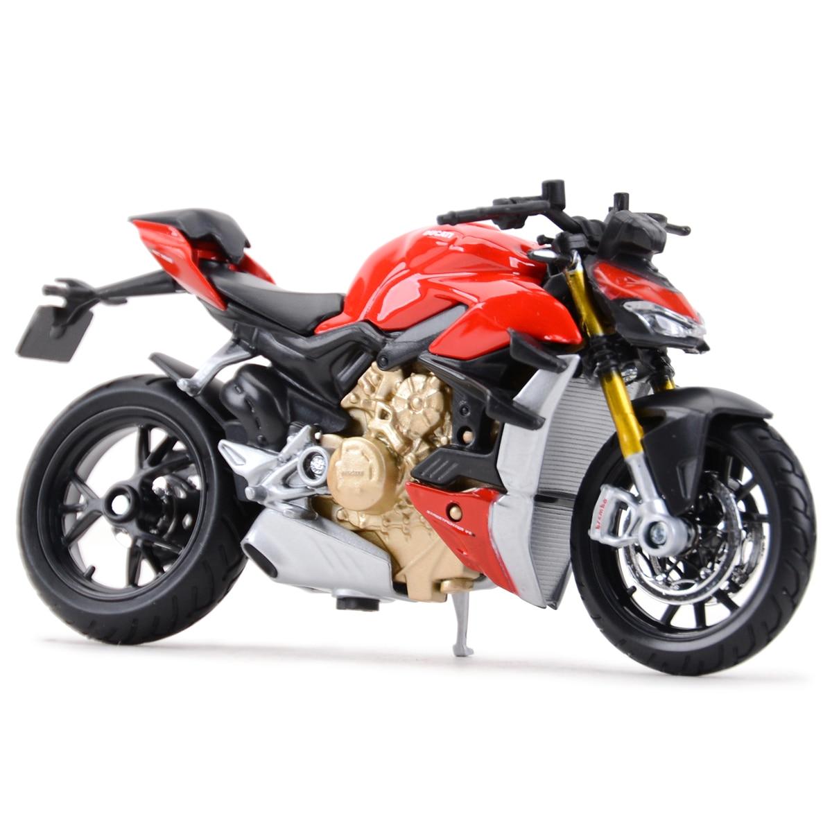 Maisto 1:18 Ducat супер Голые V4 S статические литые автомобили, коллекционные хобби модель мотоцикла, игрушки