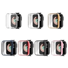 Soft Colorful Watch Protector Case Screen Protective Cover Skin Shell for -Xiaomi Mi Watch Lite Redm