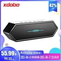 Xdobo     haut-parleur Bluetooth pour Home cinema  musique  caisson de basses puissant  barre de son sans fil avec caisson de basses