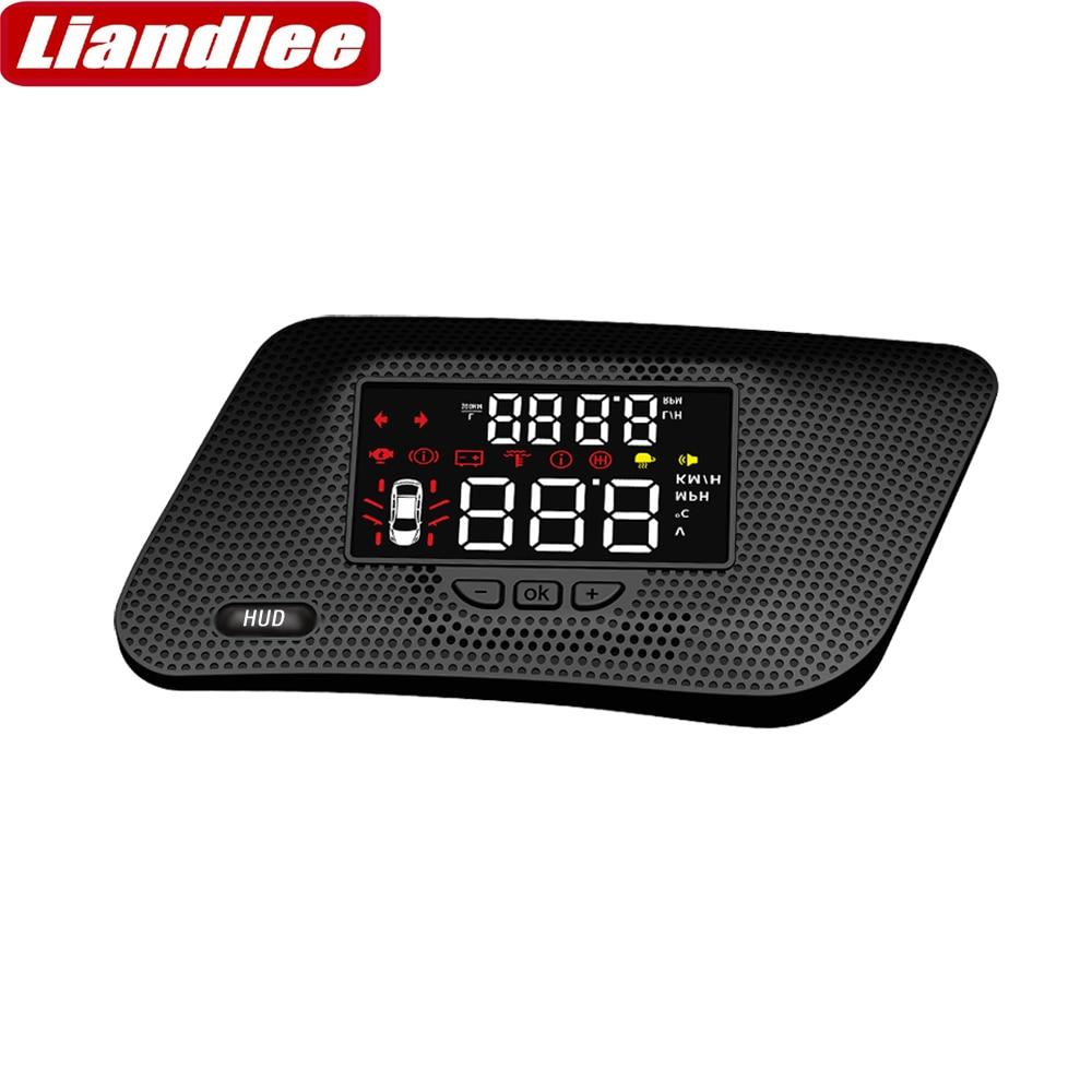 Liandlee Car Head Up Display HUD For Infiniti QX80 2018 2019 Dynamic Driving Computer HD Projector Screen Detector