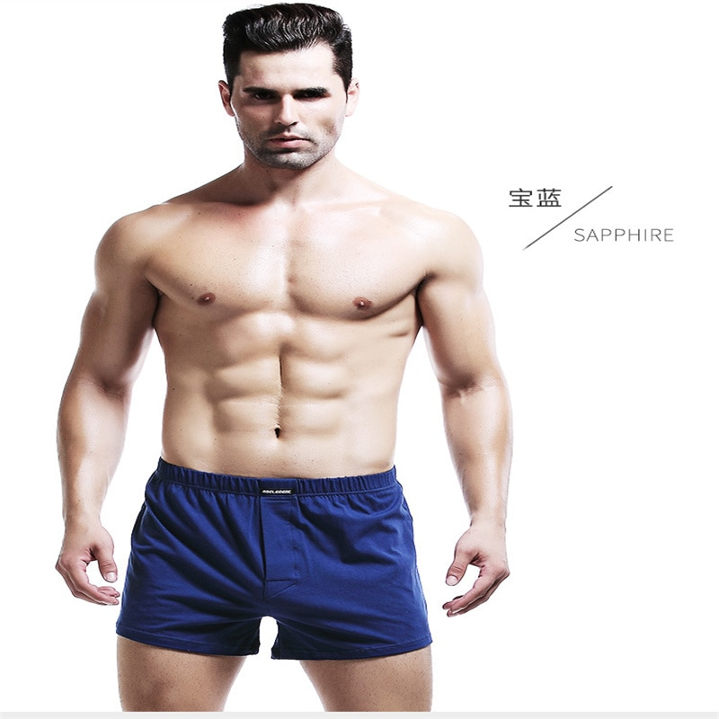 Summer Shorts Stretch Knit Breathable Cotton Boys Loose Men's Shorts Comfortable Plus Size Shorts Comfortable Cotton Shorts