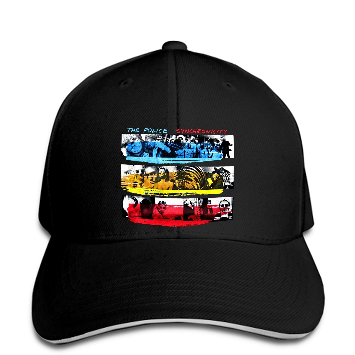 Baseball Cap New The Police Synchronicity Rock Band Sting Men Black Unisex Top Snapback hat peaked