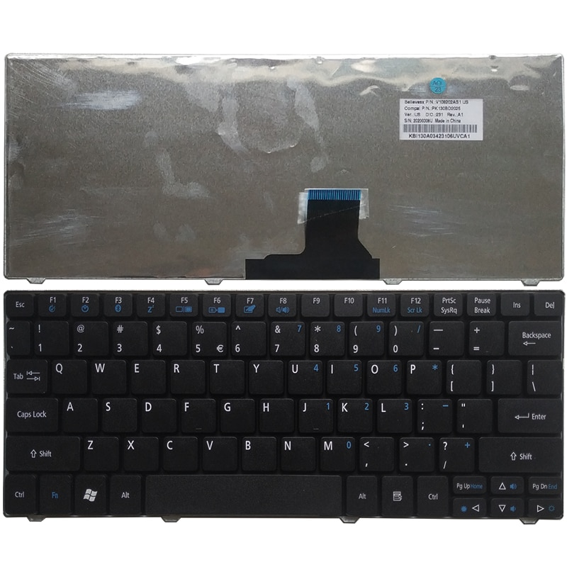 NEW US Keyboard For Gateway EC14 EC14D 4C18 LT30 LT31 US laptop keyboard black