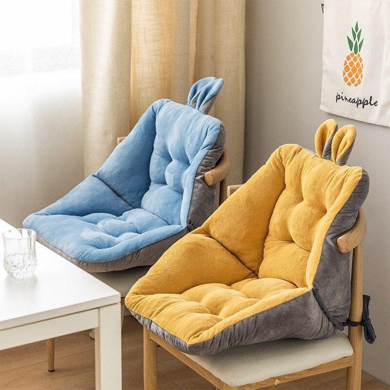 وسادة مقعد مخدة كرسي وسادة مريحة وسادة تصميم لطيف الرقبة الظهر العمود الفقري الرعاية كرسي داعم للفقرات القطنية مكتب طالب مكتب مذاكرة