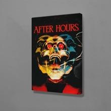 Постер Weeknd after hours, настенная живопись, холст для гостиной, дома, спальни, учебы, общежития, украшения, принты