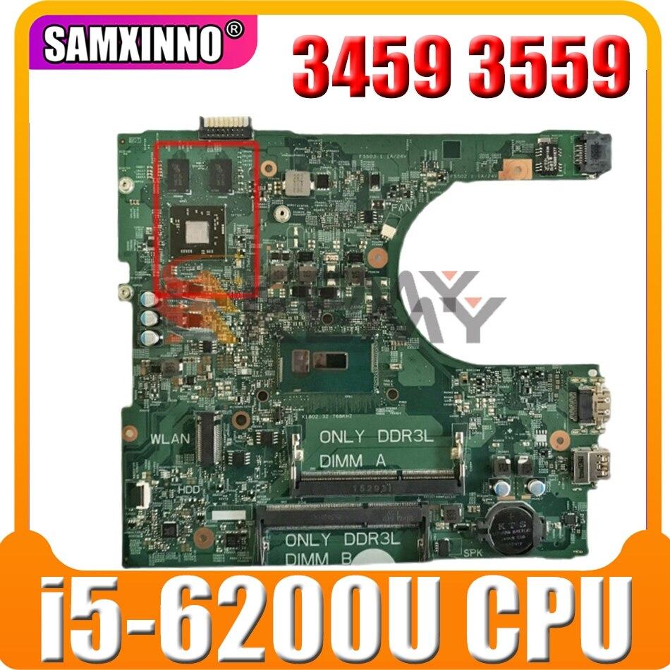 لوحة الأم الأصلية لأجهزة الكمبيوتر المحمول DELL Inspiron 3459 3559 Core SR2EY 216-0864046 CN-04M8WX 04M8WX 14236-1
