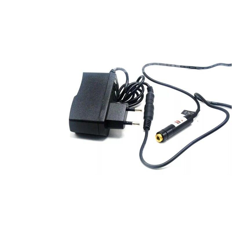 Фокусируемый 650 нм 10 мВт красный крест лазер локатор модуль с 5V 1A US% 2FEU адаптер