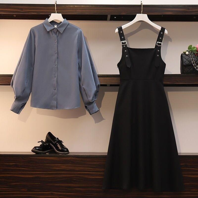 Chemise rétro avec bretelles pour femmes, nouvelle collection printemps-automne
