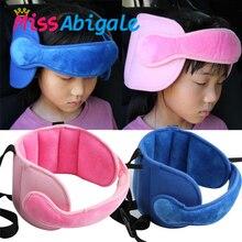 MissAbigale Child Baby Kids Adjustable Head Holder Car Seat Support Sleep Nap Aid Kid Head Protector Belt Handband Dropshipping