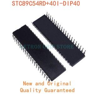 5PCS STC89C54RD+40I-DIP40 DIP40 STC89C54RD+ 40I-DIP40 DIP-40 DIP new and original IC Chipset