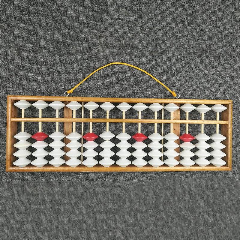 المعداد الصينية المعداد الرياضيات التعليم المعلم آلة حاسبة معلقة المعداد التدريس المعداد 58X19Cm للمعلم