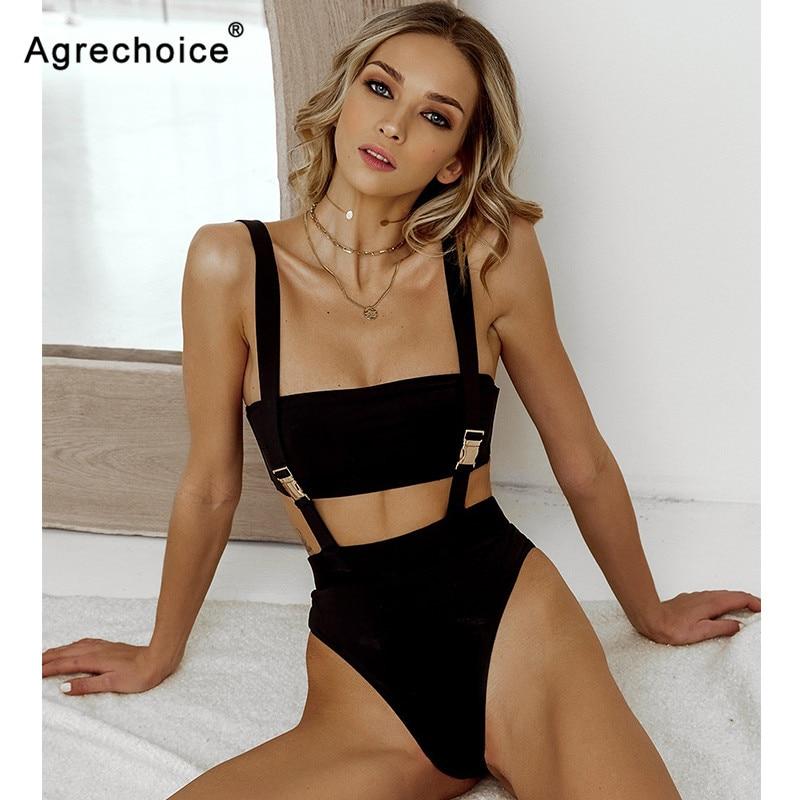 2020 nueva Sexy cintura alta Bikini, mujeres traje de baño bikini juego de Bikini estilo push up cinturón trajes de baño ropa de playa traje de baño