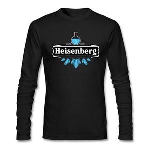 Heisenberg Blue Crystal Tee Shirts Men Best Reasonable Price BREAKING BAD Tee Collar Tee Shirt Teenage Camiseta Cool DIY Classic