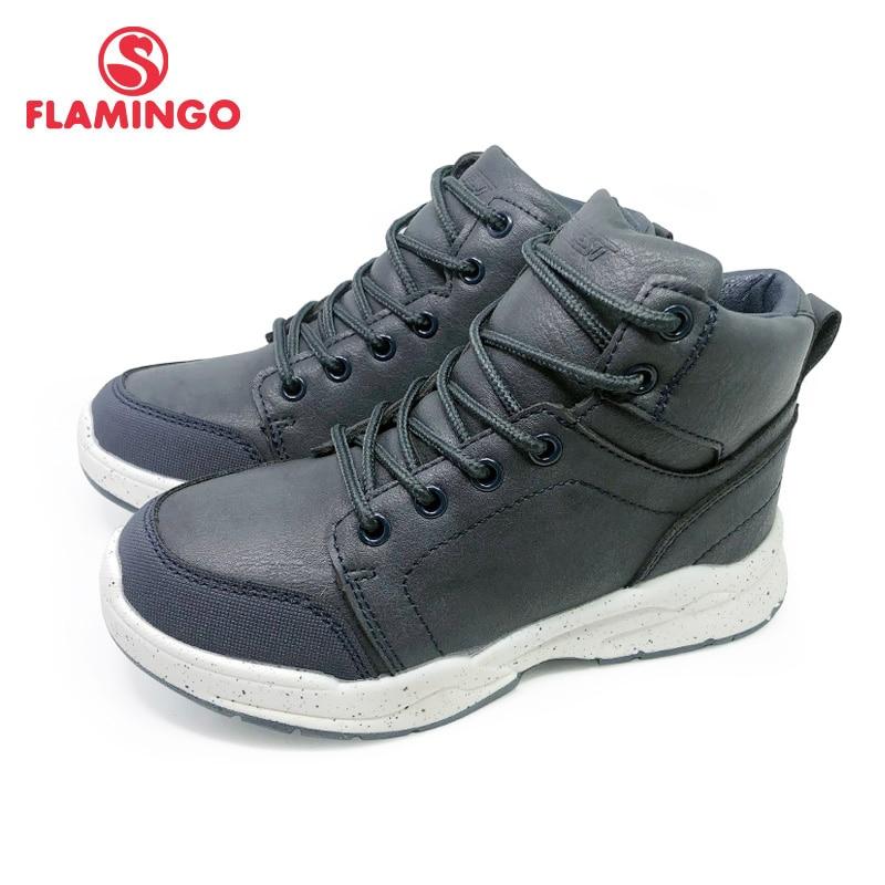 أحذية فلامنغو الخريف للأطفال ، أحذية دافئة مانعة للانزلاق للأطفال ، أحذية مسطحة ، مقاس 31-36 ، 202B-Z11-2096