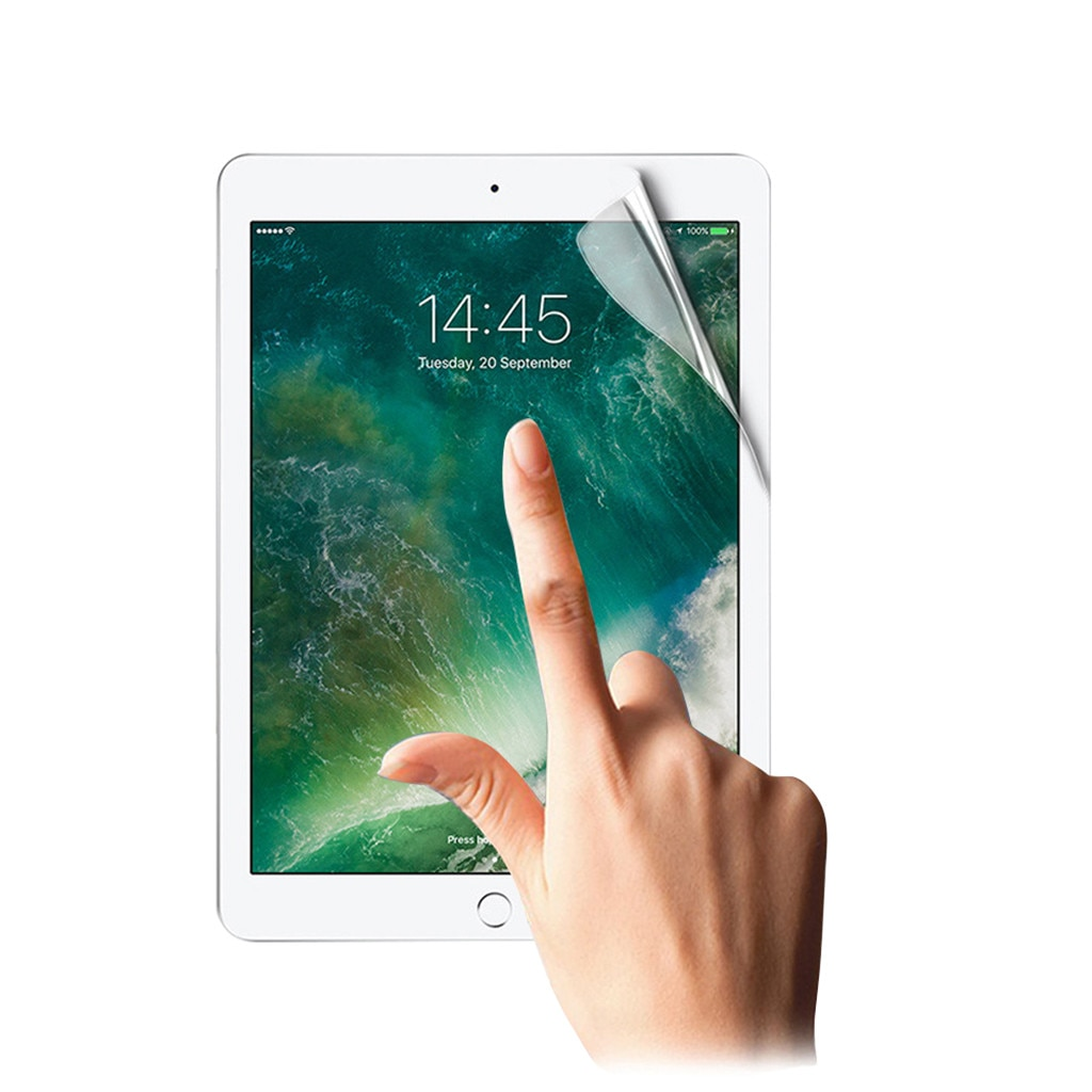 Clear Soft Hydrogel Film Screen Protector For iPad 7th Generation 10.2 inch 2019  High Quality Table
