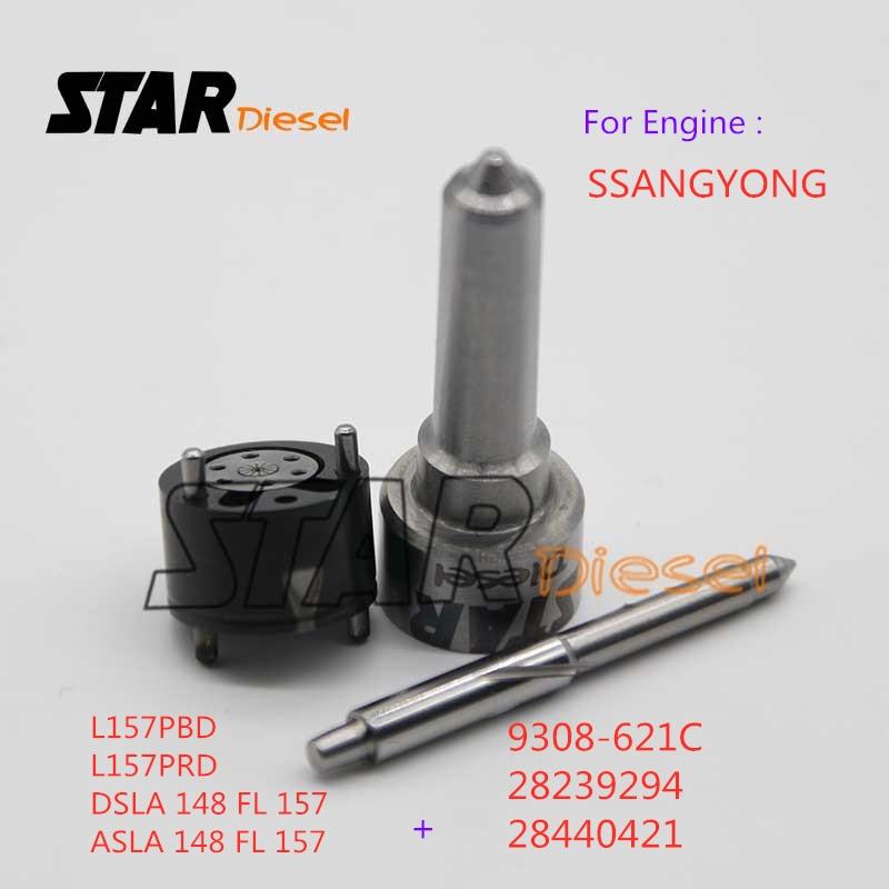 Звезда дизель сопло L157PBD клапан 9308-621C ремонтные комплекты 7135-650 для SSANGYONG EJBR03401D A6640170021 EJBR04701D A6640170222