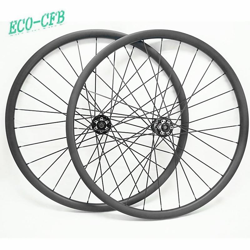 29er asimetría x 33x30mm llanta de bicicleta mtb conjunto de ruedas novatec D791SB D792SB 100x15 148x12 mtb sin bicicleta aro 29 ruedas de carbono