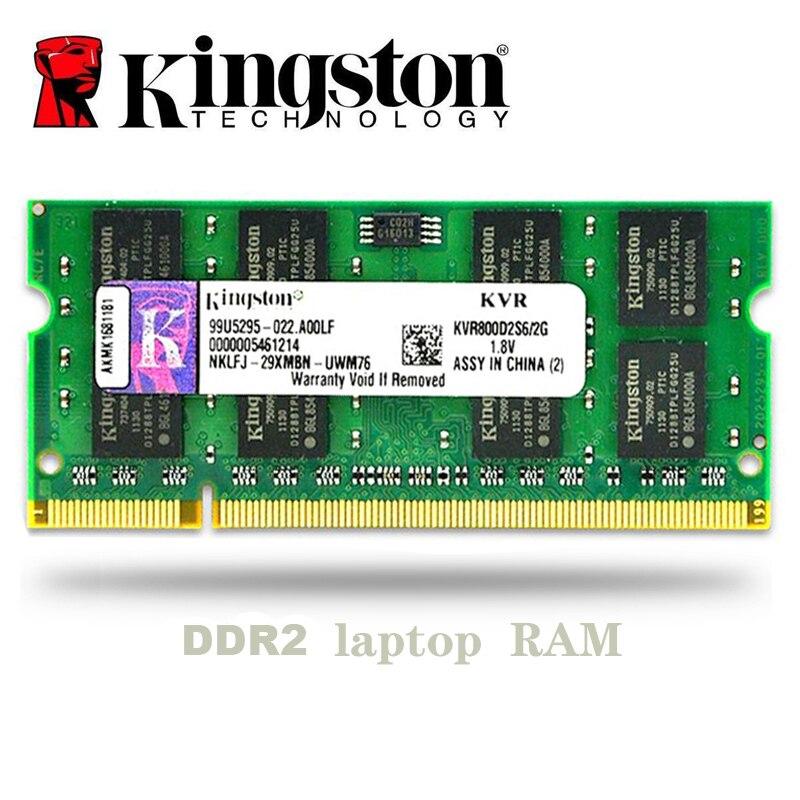 Kingston NB 1GB 2GB 4GB PC3 DDR2 667Mhz 800 Mhz 5300s 6400s portátil RAM de memoria 1g 2g 4g SO-DIMM 667, 800 Mhz