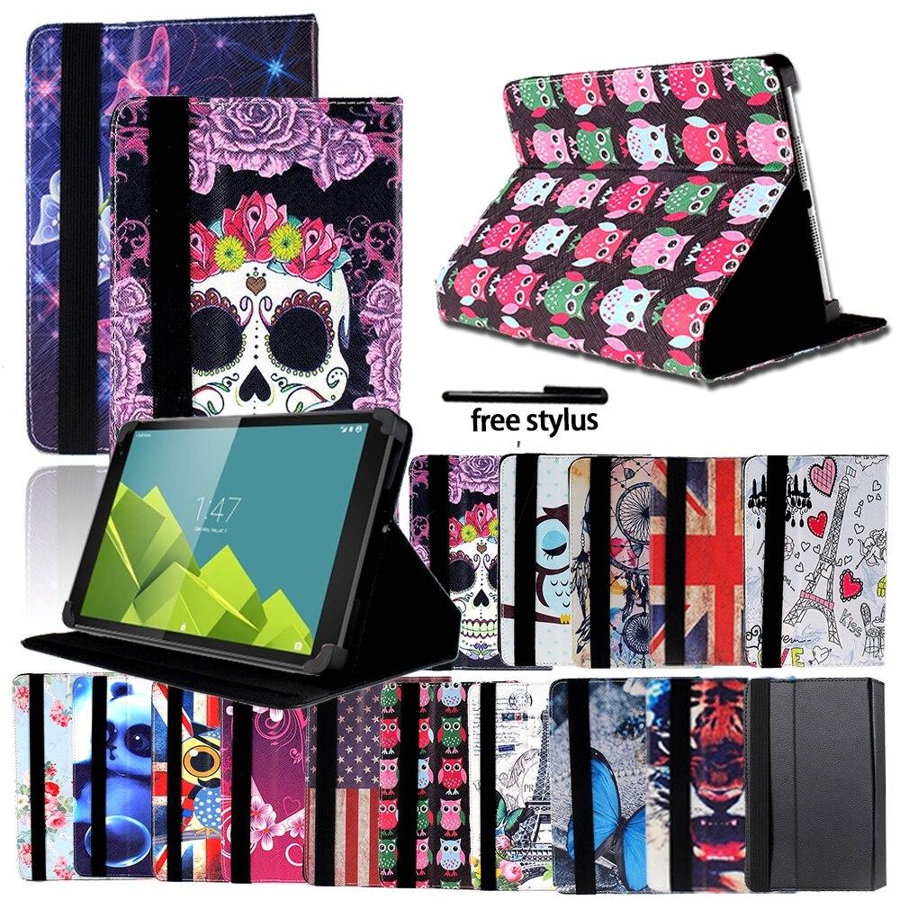 Printing Shockproof Tablet Adjustable Folding Stand Cover for 7