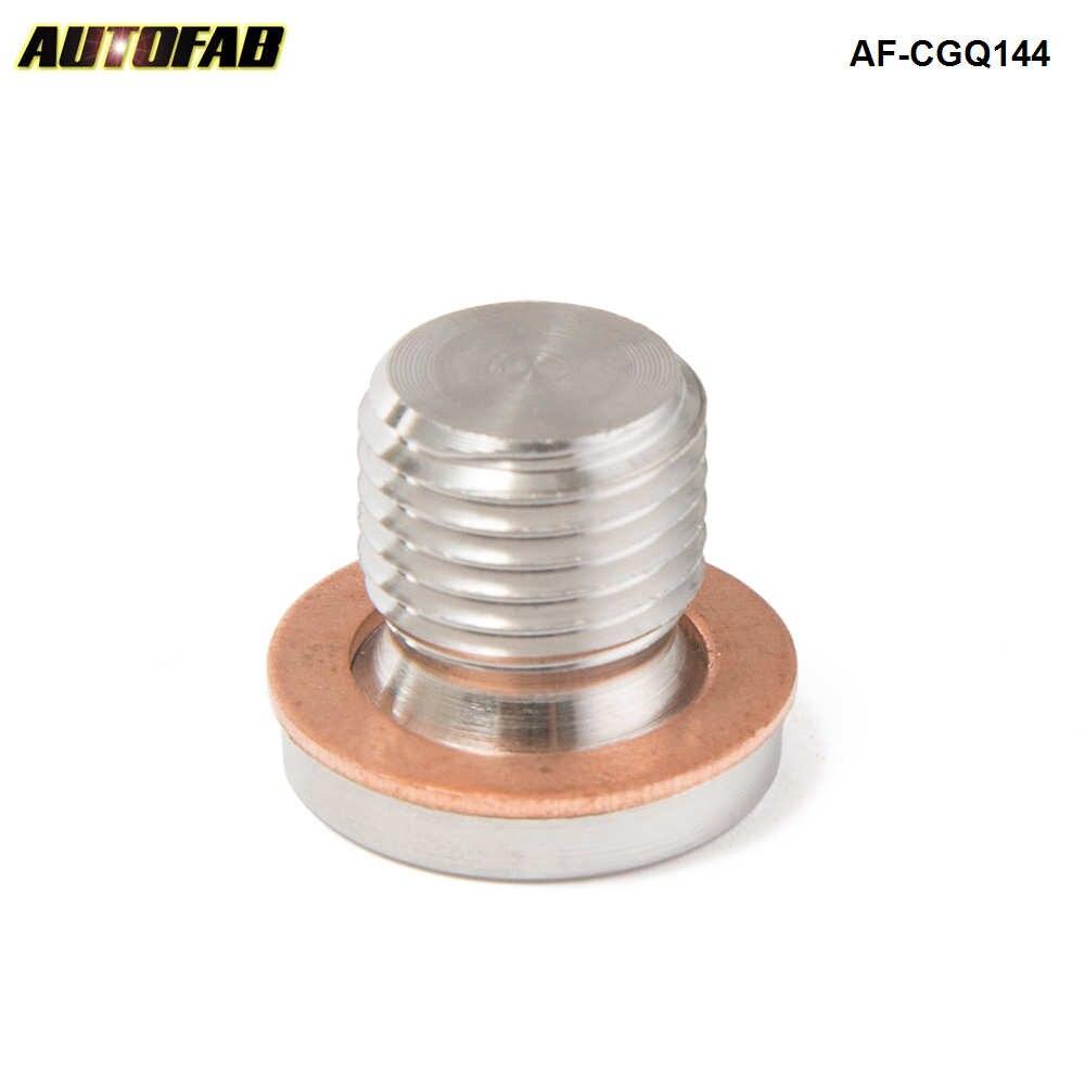 Lambda o2 sensor de oxigênio escape downpipe bung em branco parafuso plug m12 x 1.25 AF-CGQ144