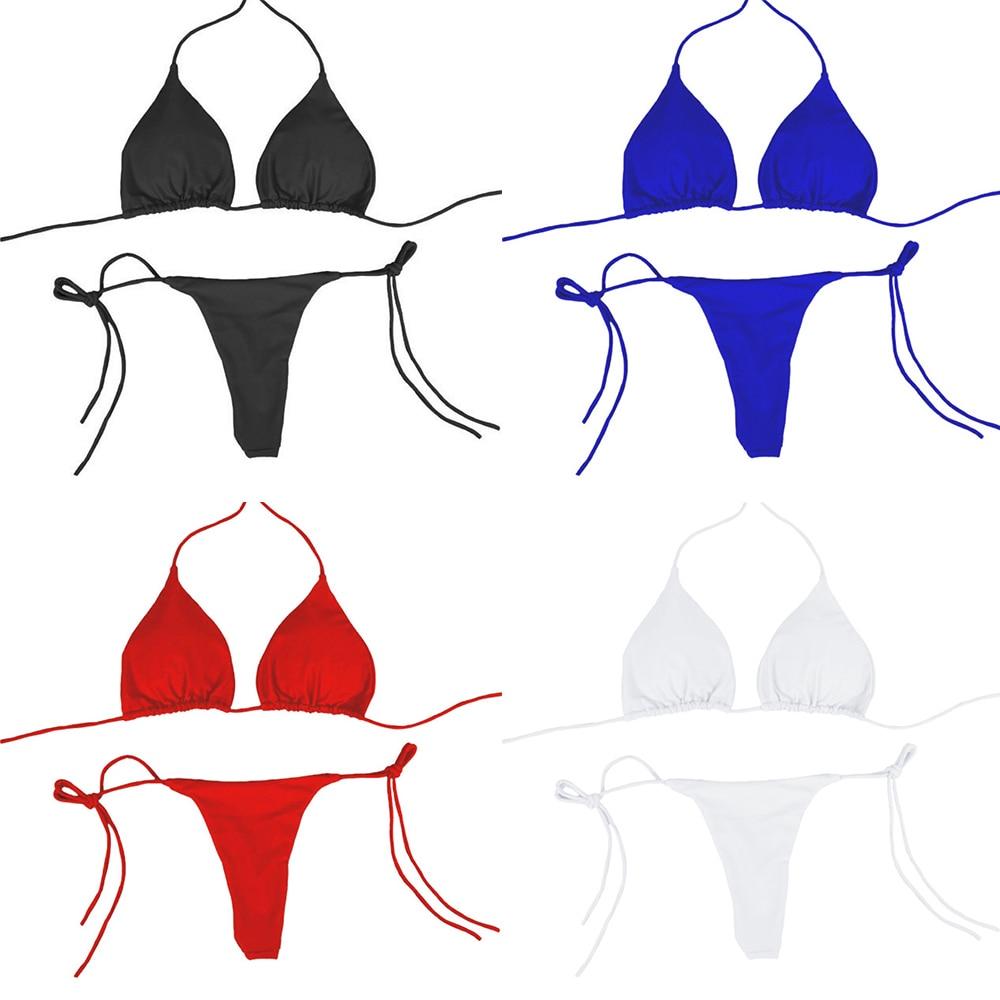Bikini Brazilian Swimsuit Sexy Women Push-up Bra Bikini Set Two Piece Swim Suit Swimwear Beachwear Bathing Maillot De Bain Femme