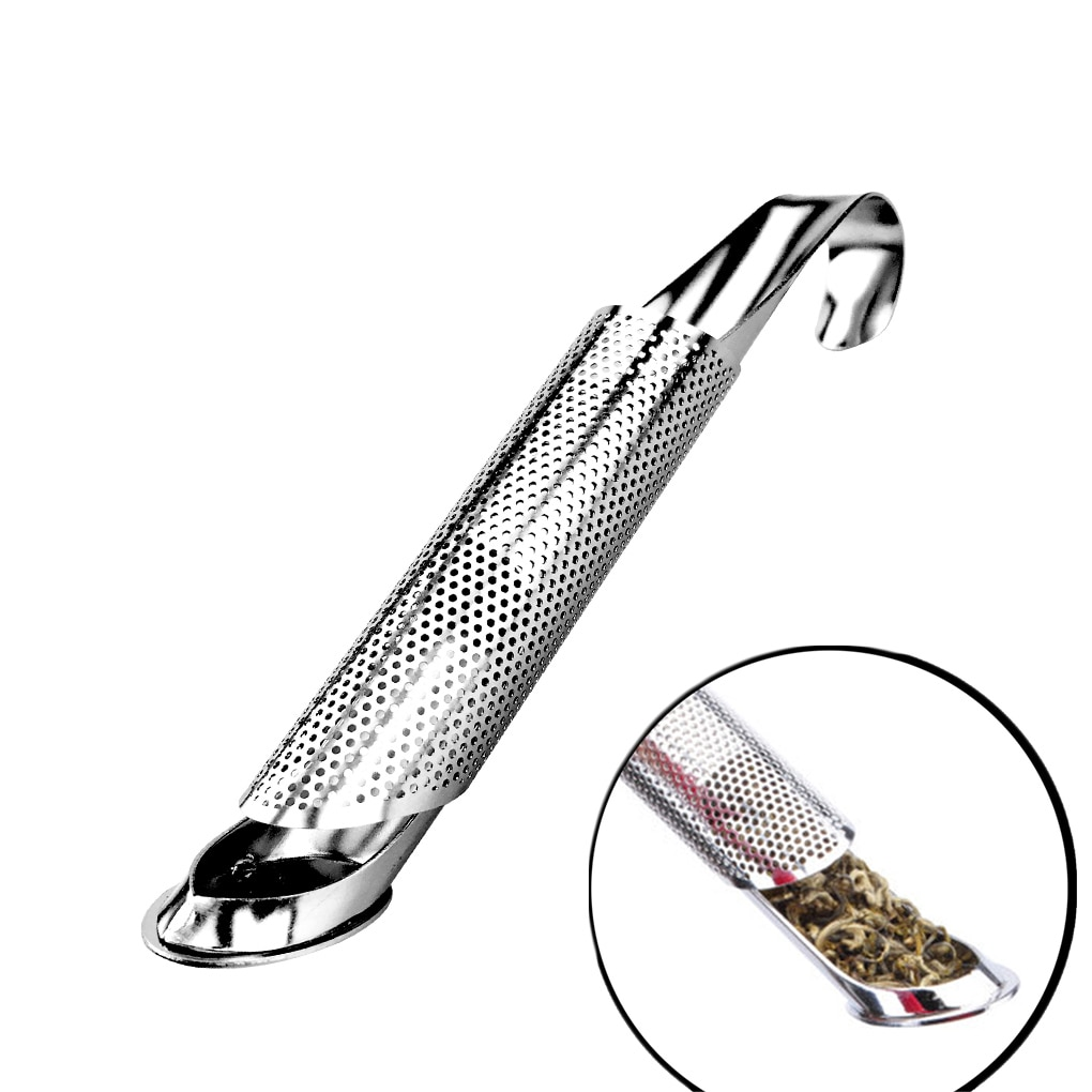 Tea Infuser For Tea Strainer Stainless Steel Infuser Pipe Design Metal Infusers Sieve Filter Accessories