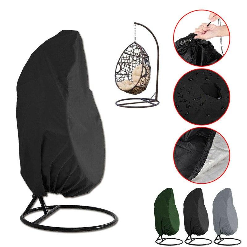 Пылезащитный чехол для уличных качели, подвесного кресла, водонепроницаемый защитный чехол на молнии, наружный подвесной чехол для кресла ...