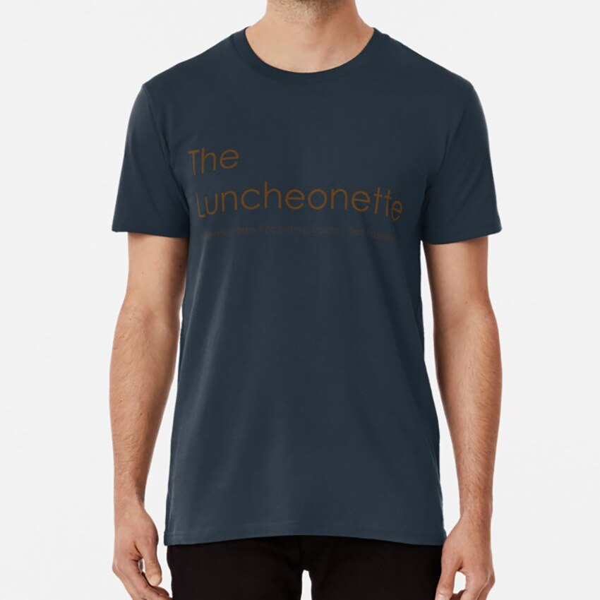 El Luncheonette T shirt de la maternidad peter krause AE whitman erika Christenberg de Kate ramos