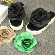 1 paire grande fleur chaussures décoration chaussures Clips boucle bijoux décoratif chaussures accessoires bricolage Dropshiping
