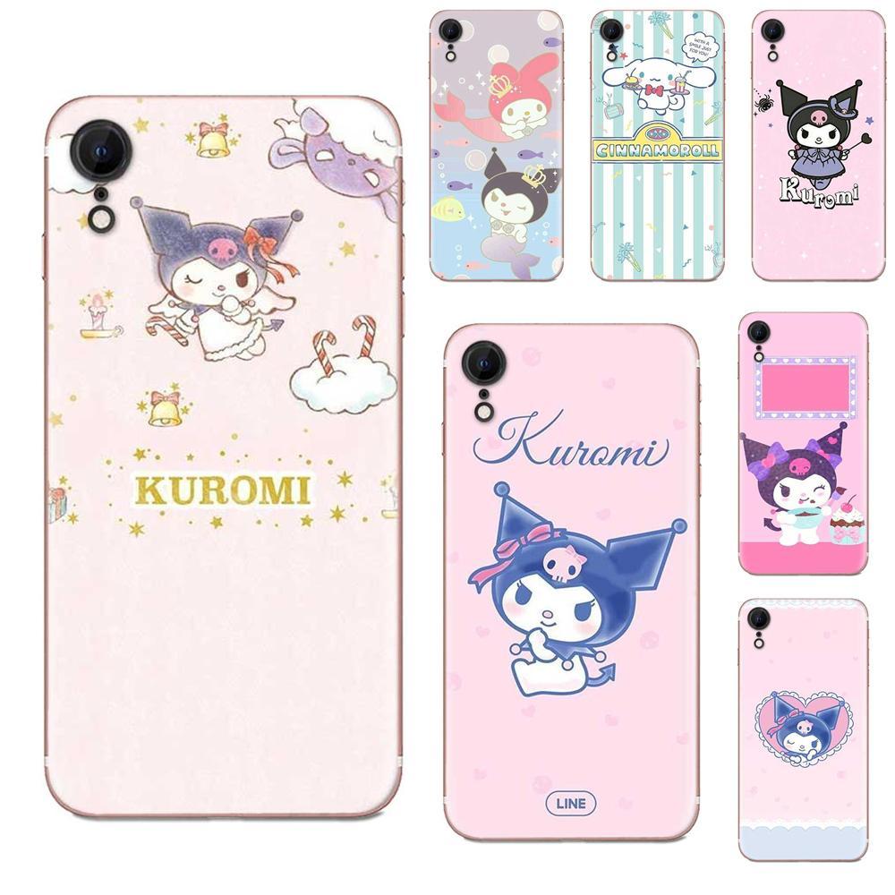 Funda de teléfono de diseño alto para Samsung Galaxy A51 A71 A81 A90 5G A91 A01 S11 S11E S20 Plus Ultra Kuromi