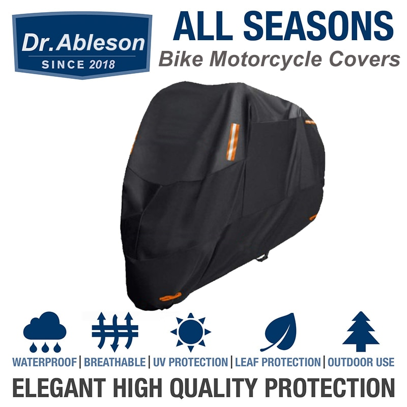 300D Oxford Cloth Motorcycle Cover Bike All Season Waterproof Dustproof UV Protective Outdoor Indoor Scooter Storage Case