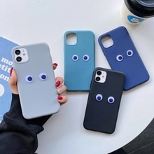 Cute 3D Eye Silicone Case For Xiaomi Mi CC9 Pro CC9E A2 A3 Lite 6X Pocophone F1 Soft TPU Phone Cases