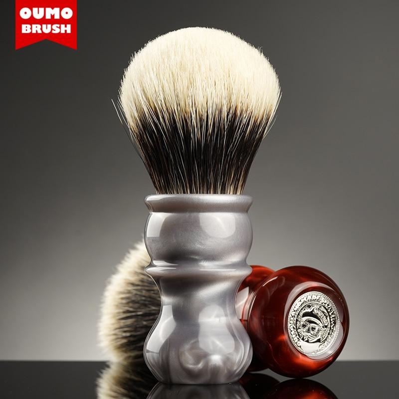 OUMO BRUSH - Galaxy Venus badger shaving brush with Manchuria/ACE/SILK/HOOK/WT
