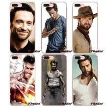 Amerika Wolverine Hugh Jackman TPU Fall Für iPhone X 4 4 S 5 5 S 5C SE 6 6 S 7 8 Plus Samsung Galaxy J1 J3 J5 J7 A3 A5 2016 2017
