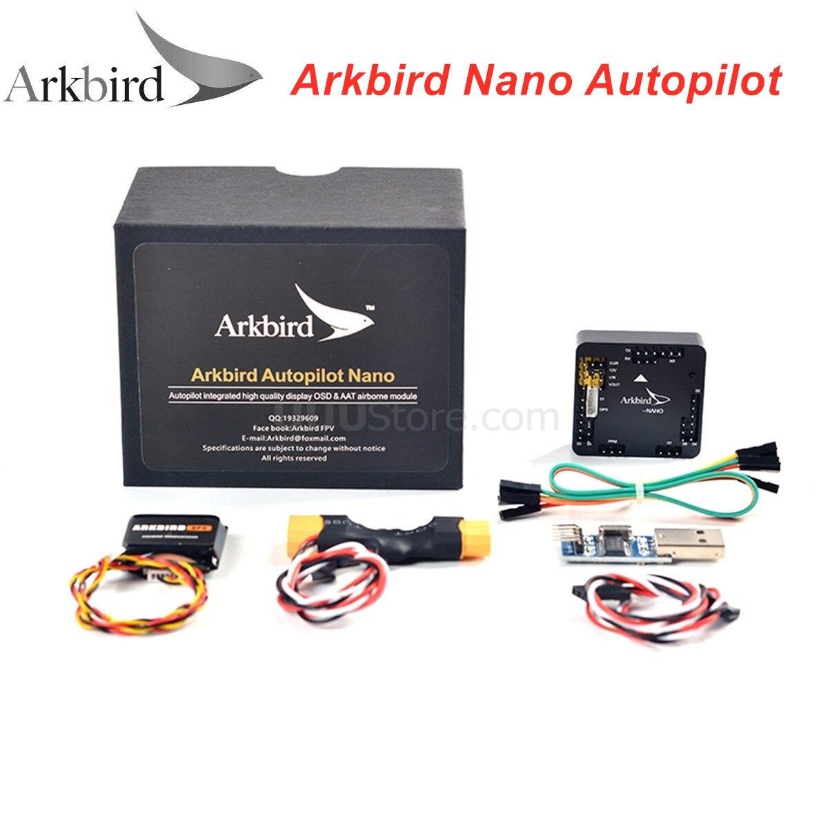 Nano piloto automático Arkbird, Control de vuelo extremo pequeño, 15,2g, OSD ATT para Drones de carreras RC, Mini aviones FPV