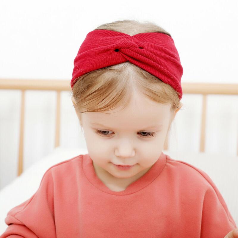 Fashion Baby Cross Hair Band Kid Girls Princess Headband Toddler Baby Cute Lace Bow Headwear Accessories Headwear Baby Gifts