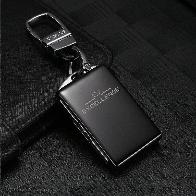 سيارة الألومنيوم مفتاح فوب قذيفة استبدال ل فولفو xc60 xc90 s90 v90 XC60 XC90 XC40 S90 V90 2018 2019