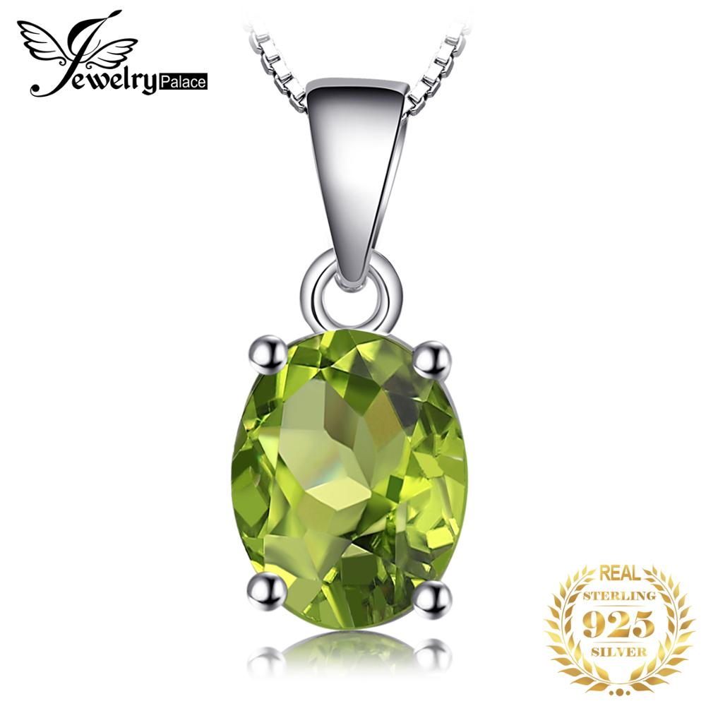 Натуральный кулон из перидота ожерелье 925 драгоценные камни из стерлингового серебра Колье эффектное ожерелье женское серебро 9