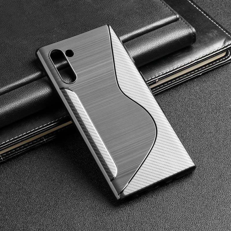 Silicon Case For Samsung S10 S9 Plus Case Soft TPU Black Phone Bumper For Samsung Galaxy Note 10 9 S10E M30s M30 M20 M10 Covers