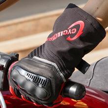 1 Pair Men Winter Waterproof Wear-Resistant Outdoor Sports Riding Snow Gloves