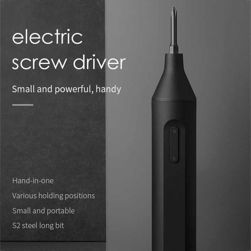 Xiaomi S2 Bits Electric Screwdriver Manual Automatic Power Tools Integrated Cordless 1500mAh Rechargeable Screwdrivers Mijia