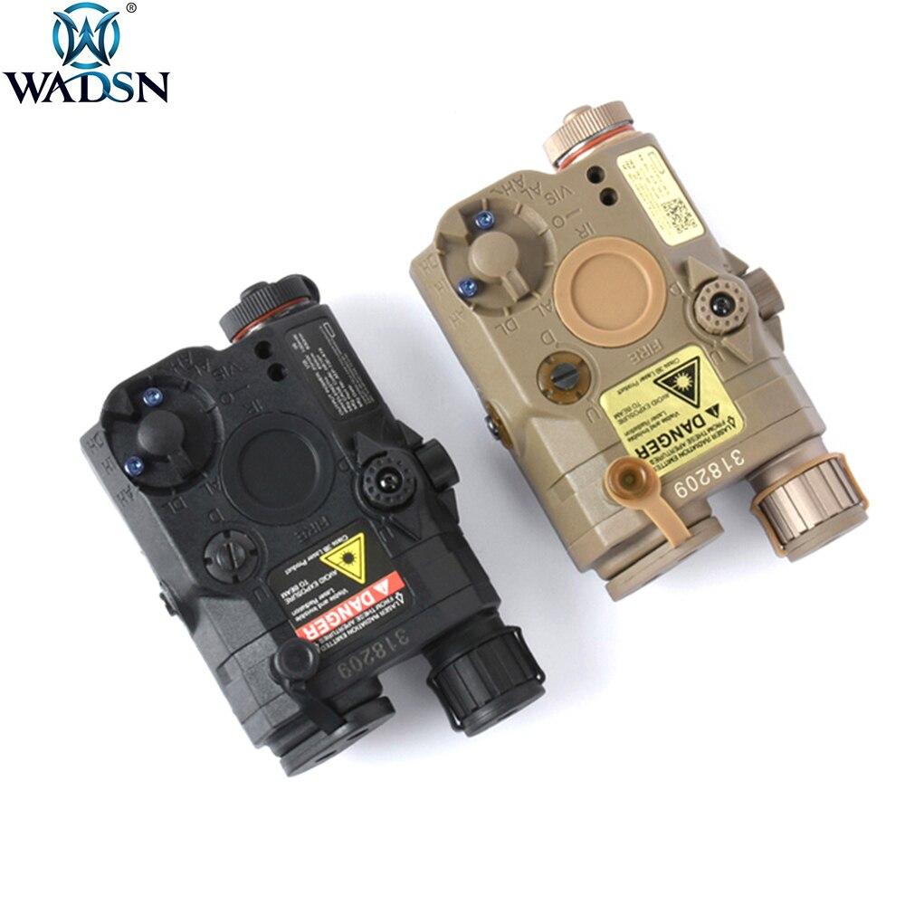 Wadsn airsoft tático la5c PEQ-15 uhp versão led ir verde laser softair caça armas la5 peq15 visão laser branco scout luz