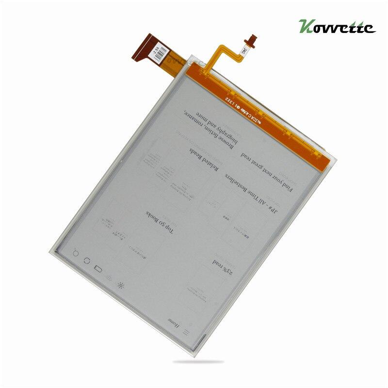 Tinte Bildschirm ED060XG1(LF) t1-11 ED060XG1 768*1024 LCD Ebook eReader LCD Bildschirm für Kobo Glo Kartenleser Bildschirm Ersatz